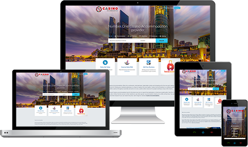 Casino Accommodation displayed beautifully on multiple devices