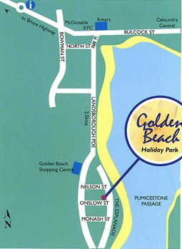 Golden Beach Holiday Park - Casino Accommodation