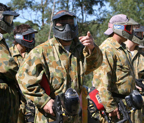 Action Paintball Games - Perth - Casino Accommodation