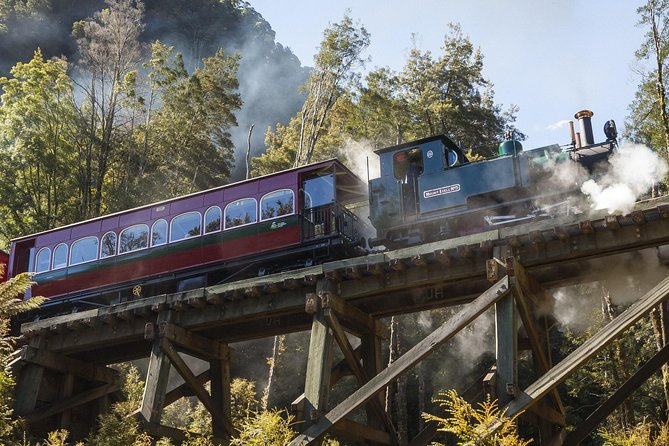 West Coast Wilderness Railway Queenstown Explorer from Strahan - Casino Accommodation