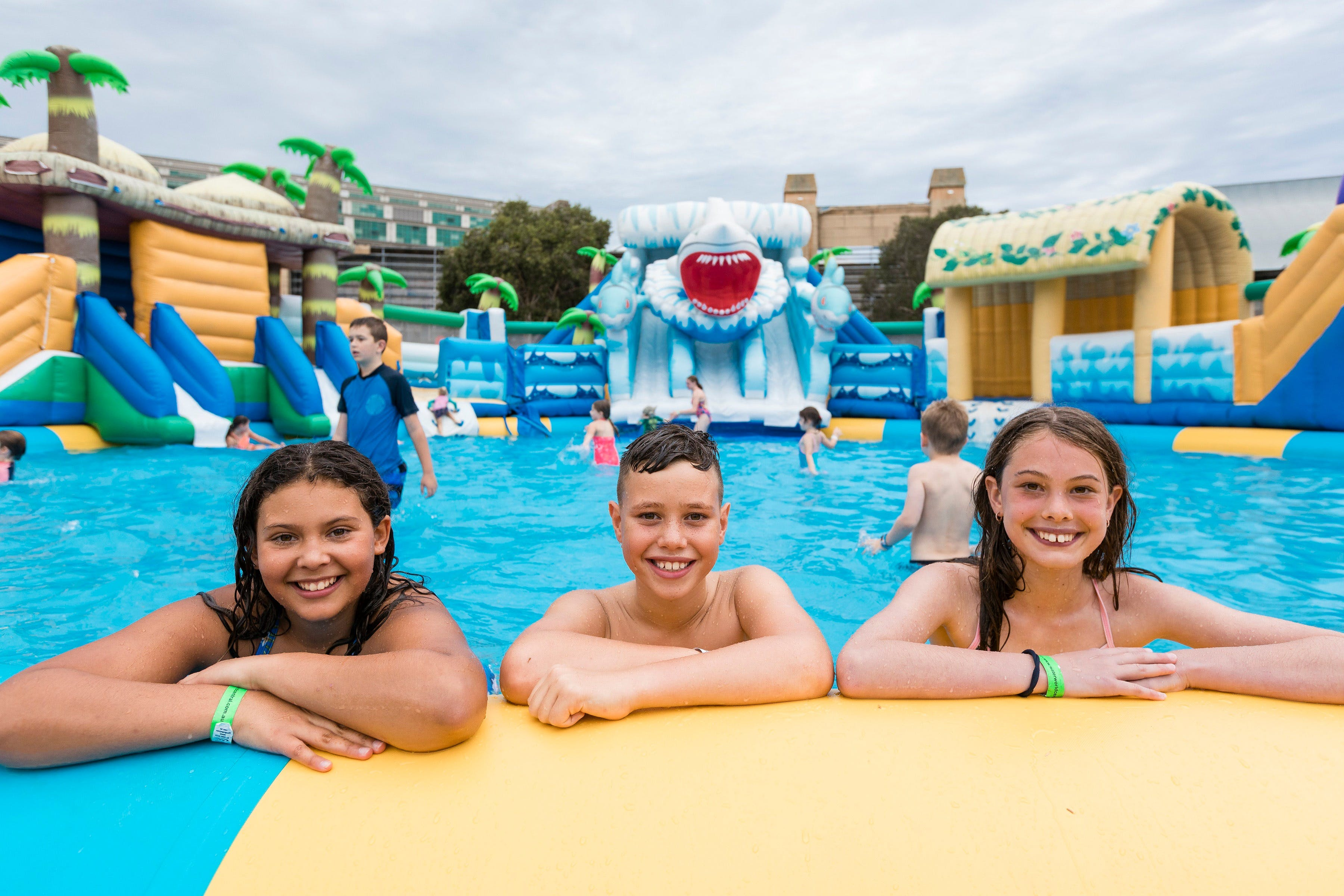 Waterworld Central - Mobile Inflatable Waterpark - Casino Accommodation