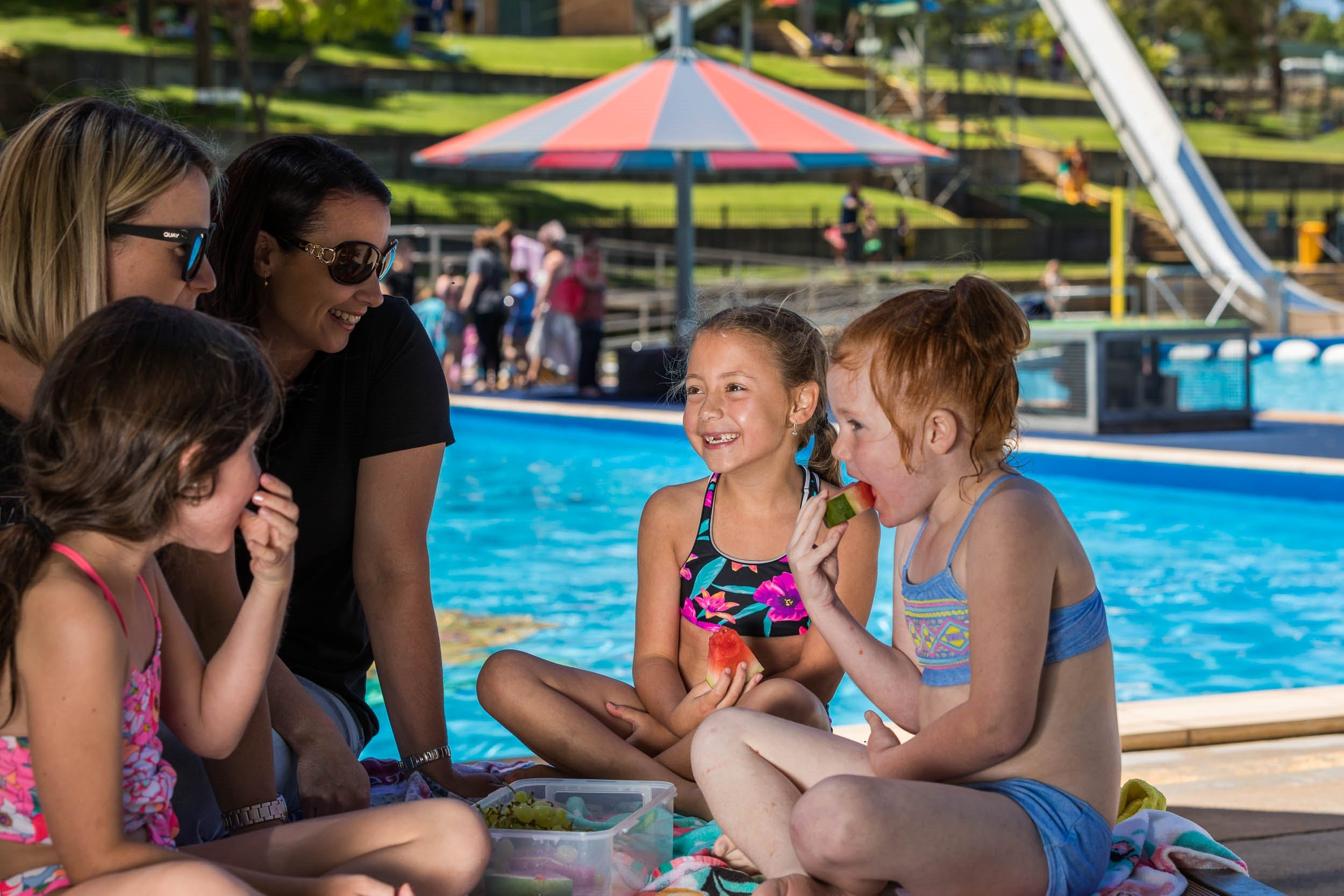 Australia Day fun at Lake Talbot Water Park - Casino Accommodation