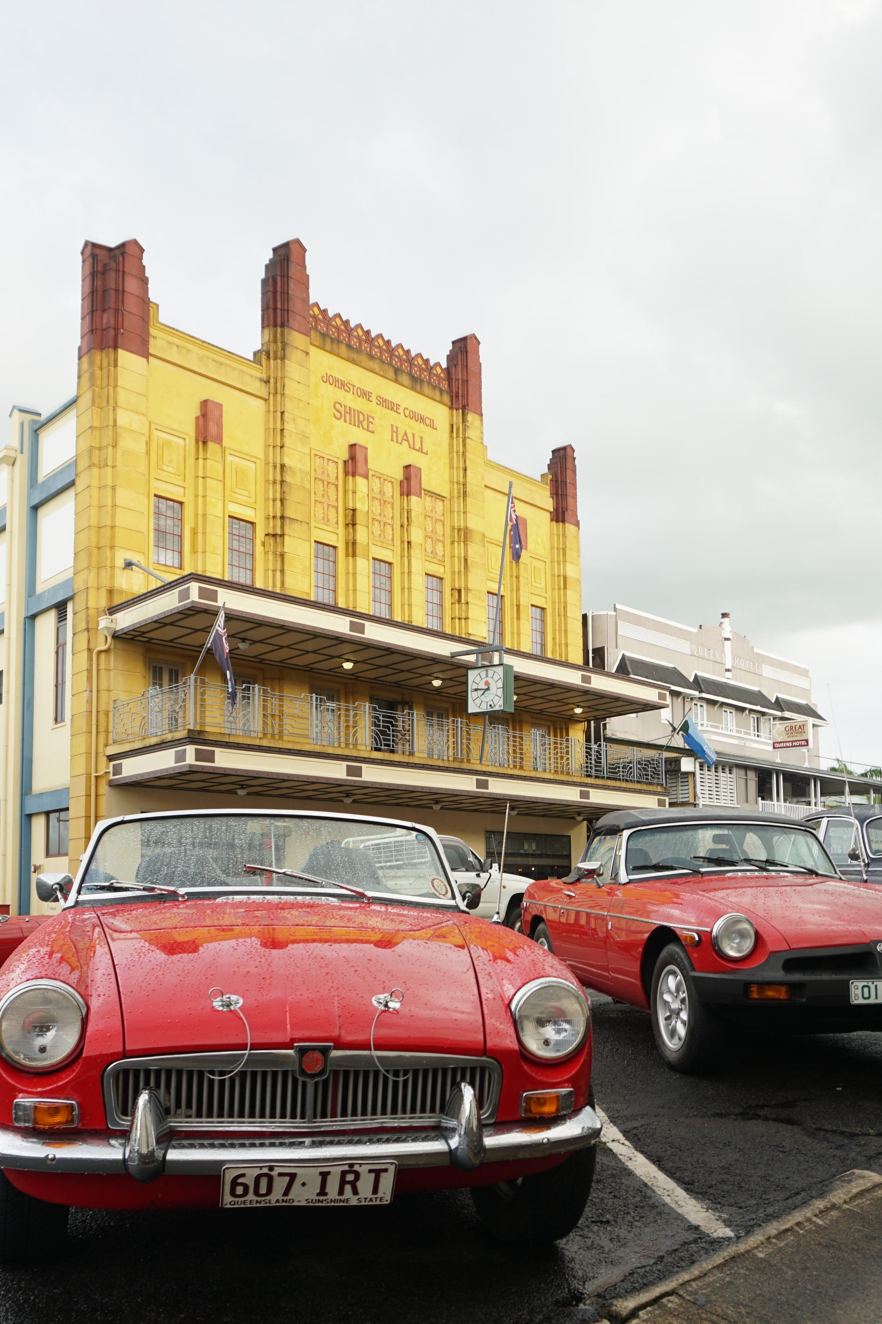 Tour de Cassowary - Classic Car Tour - Casino Accommodation