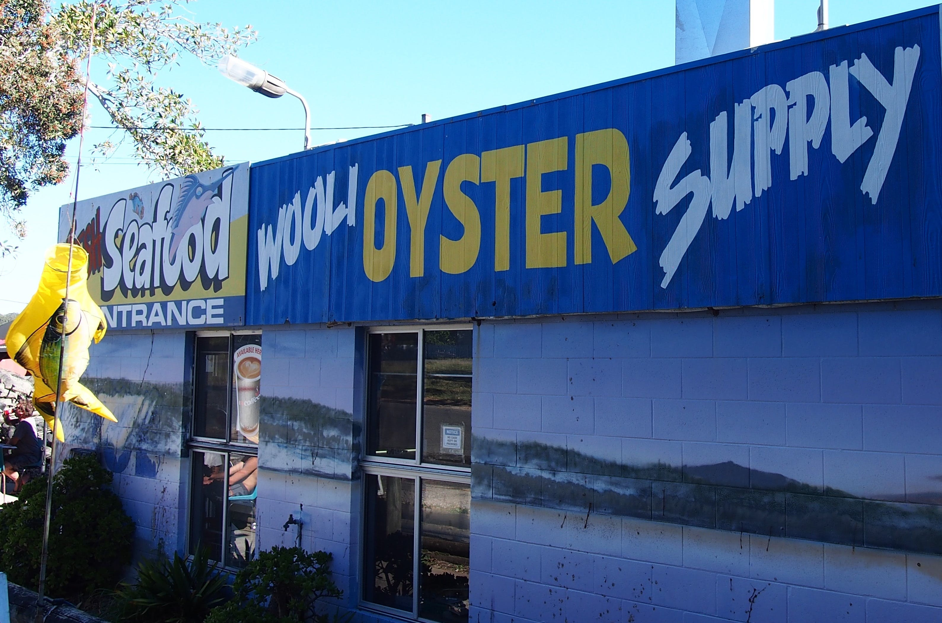 Wooli Oyster Supply and Seafood Co-op - Casino Accommodation