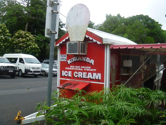Kuranda Homemade Tropical Fruit Ice Cream - Casino Accommodation